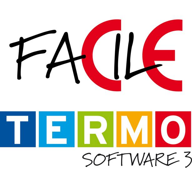 loghi dei software FACILE e Thermosoftware